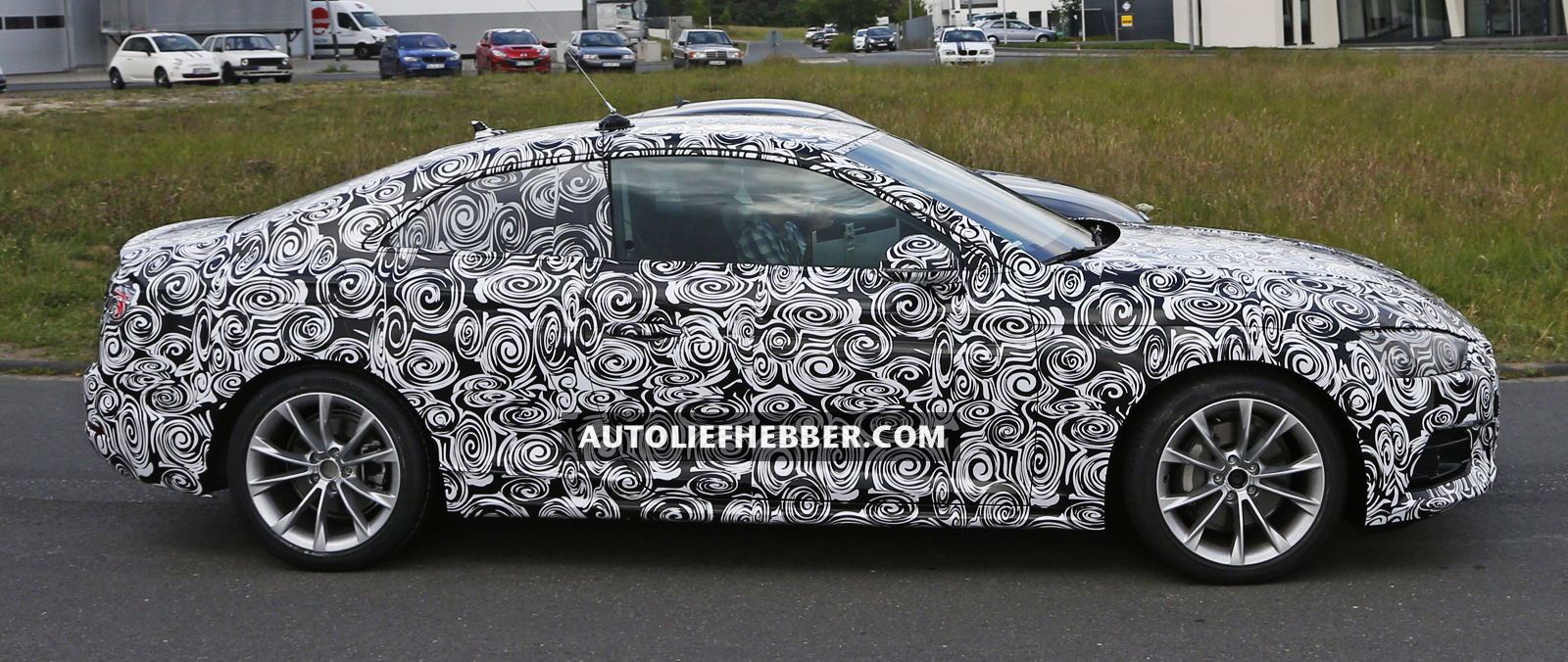 Audi A5 Coupe begin test in Duitsland